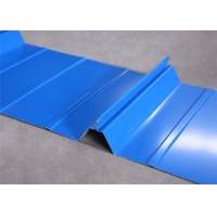 Buy cheap 201 Grade 5V Crimp Standing Seam Ss Roof Sheet from wholesalers