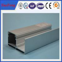 Quality aluminium window fitting frame extrusion, aluminum frame for windows and doors for sale