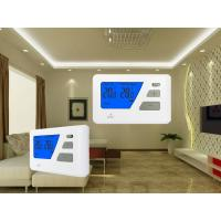 Quality Blue Backlight Digital Wired  Room Thermostat For Electric Heating System for sale