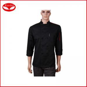 Custom cotton Kitchen jacket fashion womens chef coat for restaurant