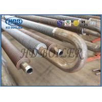 Buy cheap Stainless Steel 304 Economizer Spiral Fin Tubes For Hot Water Boiler from wholesalers