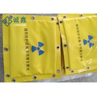 Quality Soft Lead Shielding Blankets / Lead Wool Blankets Customized With Metal Lead Fiber for sale