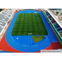 Quality Large Construction Project Rubber Running Track For Stadium Flooring In Suphan Buri , Thailand for sale