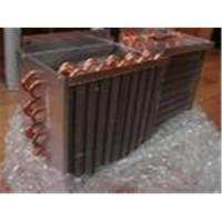 Buy cheap 0.2 ~ 3.1mpa Copper Fin Tube Heat Exchanger For Industry /Commerce Air Conditioning product