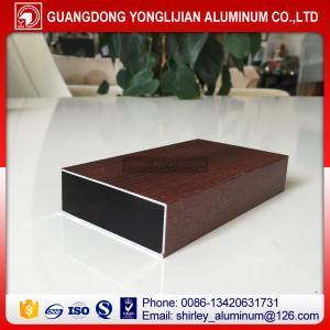 Buy cheap Wood grain aluminum square tubes,aluminum square hollow tube,aluminum extrusion profilemanufacturer product