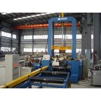 China Automatic Hydraulic H-beam Assembling Machine Motor With PLC System on sale