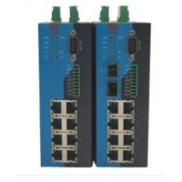 Buy IP40 Serial Ethernet Switch Wide Voltage 12~48V DC Power Input Support Redundant at wholesale prices