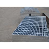 China Flat Hot Dipped Galvanized Walkway Grating , Steel Safety Grating For Bridge on sale
