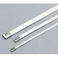 Buy cheap Coated Stainless Steel Releasable Ss Zip Ties Customizable Industrial Strength from wholesalers