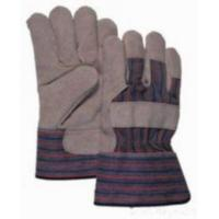 Quality Cowsplit Leather Working Gloves for sale