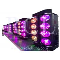 Buy cheap 4 in 1 LED Moving Head Wash Light 8 * 10W RGBW Tri LED Spider DJ Lighting Fixtures product