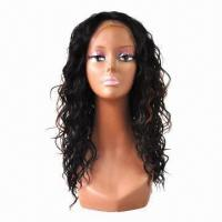 Quality Full Lace Wig/100% Human Hair Wig, No Tangling/Shedding, Can Restyle, Dyed, Drift for sale