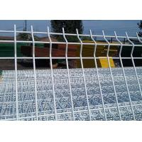 China Powder Hot Dip Galvanized Garden Mesh Fencing / Welded Triangle Bending Fence on sale