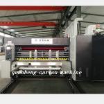 Quality QH high speed corrugated carton lead edge feeder flexo Printing Die Cutting Machine for sale