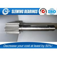 Quality High Precision Parts Spur Gear Shaft With Stainless Steel Material for sale