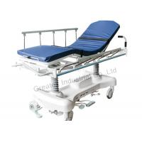 Buy Shock Proof Patient Transfer Stretcher Hydraulic Rise - And - Fall System at wholesale prices