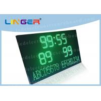 Buy cheap LED Football Scoreboard Display with Wireless Controller and 220V/110V AC power from wholesalers