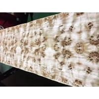 China 0.5mm Full Sheet Mappa Veneer with Paper Back for Furniture Usage on sale