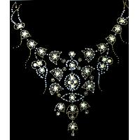 China Beautiful hot fix rhinestone motif on sale