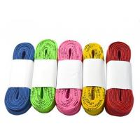 China Wear Resistant Waxed Ice Hockey Skate Laces For Skate Shoes Double Yarns on sale