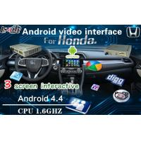 Quality Android Multimedia Auto Interface Navigation for Honda City / Fit / Odyssey / HRV for sale