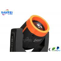 230W 7R Sharpy Moving Head Light With Yellow Ring Shell Osram Bulb