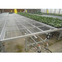 Quality Shougugan Seedbed Greenhouse Rolling Benches Weather Resistance Featuring for sale