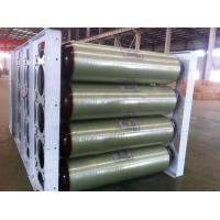 ISO11439 Cascades Storage , 250 Bar 200L X 40 EA 20FT Compressed Natural Gas Tank