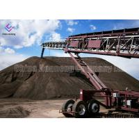 China Heat Resistant Portable Electric Conveyors , Coal Mining Industry Portable Conveyor Belt Systems on sale