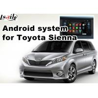 Quality Android 5.1 gps navigation box interface for TOYOTA Sienna 4th Prius mirrorlink for sale