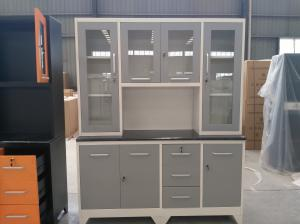 Quality Keda Knock Down 90kgs Steel Kitchen Cabinet for sale