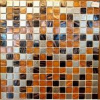 Quality mixed mosaic glass+ stainless steel mosaic PY-FL008 for sale