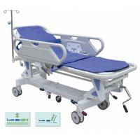 Quality Height Adjustable Mechanical Transport Stretcher Trolley For Hospital Disabled for sale