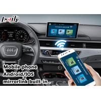 Buy 2017 AUDI A4 Andorid Navigation Multimedia Video Interface with Built-in Mirrorlink , WIFI , Parking Guide Line at wholesale prices