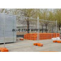 Quality Hot Dipped Galvanized Welded Wire Fence Panels , Temporary Wire Mesh Fence Panels for sale
