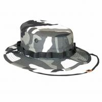 Quality Custom Wide Brim Army Military Hats , Digital Camo Boonie Hat UV Protection for sale