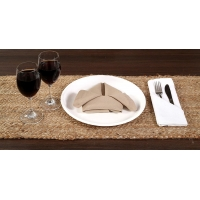 Quality Rectangle Ramie 2.5mm Natural Woven Table Fabric Placemats for sale