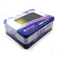 Quality Chocolate Tin Celebrations Chocolate Box With PET Window On Top , Coated With A Fine Layer for sale