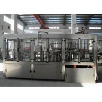Quality 3000BPH Beverage Filling Machine , Carbonated Beverage Bottling Equipment With CE for sale