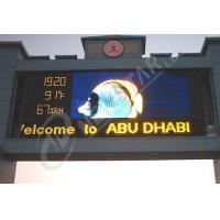 Quality High Resolution P20 Outdoor LED Signs 2500dots/㎡ advertising LED display for sale