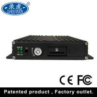 Quality H 264 4 Channel Vehicle Security Camera System Mobile Car Dvr Kit 1920 * 1080P for sale