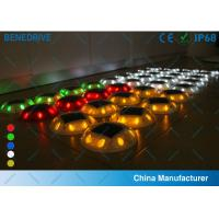 Buy cheap 6 LED 4 Colors Outdoor Garden Solar Powered Road Studs , solar stud lights from wholesalers