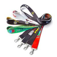 Quality Polyester Printed Neck Lanyard Strap With Custom Accessories Eco Friendly for sale