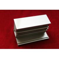 Quality Bronzed Electrophoresis Extruded Aluminum Profile with Wall Thickness 0.6-1.2mm for sale