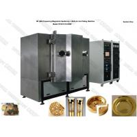 Tin Gold Metal Magnetron Sputtering Coating Machine Vertical Orientation Chamber
