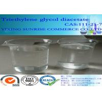 Buy cheap Triethylene Glycol Diacetate Foundry Chemicals 111-21-7 C10H18O6 For Extraction Agent product