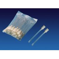 Quality 100 Ppi Polyurethane ATM Snap Swab 4.5'' , Rectangular Foam Tip Cleaning Swabs for sale