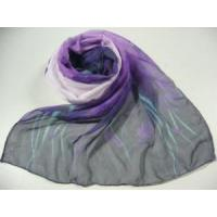 Quality Fashion Printed Polyester Scarf (HP-C4506) for sale
