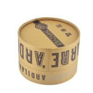 Quality Printed Custom Logo Round Cardboard Gift Box Handmade Round Paper Gift Box for sale