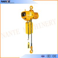 Quality Industrial Electric Chain Hoist for Crane / Travelling Type / Fixed Type Electric Hoist for sale